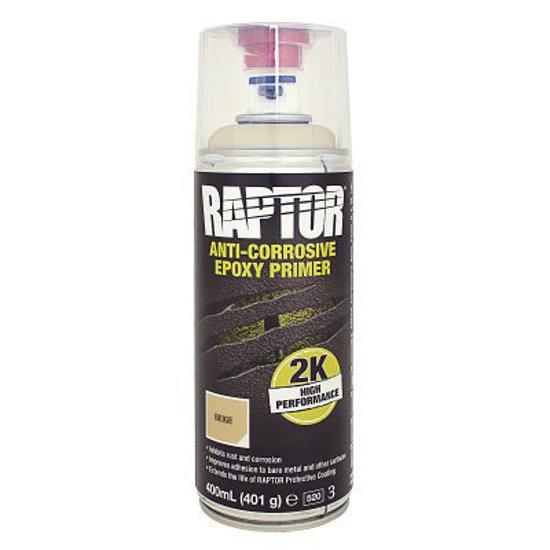 Podkład epoksydowy w sprayu Raptor 2K Epoxy Aerosol 400 ml