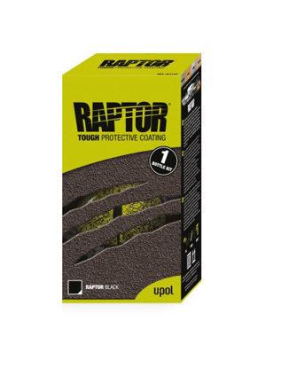 Raptor 1 butelka Czarny