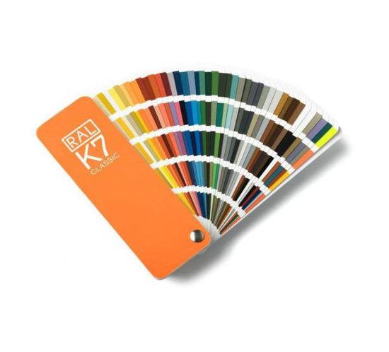 Wzornik paleta kolorów RAL Classic