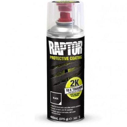 Obrazek Raptor 2K Aerosol 400 ml Czarny