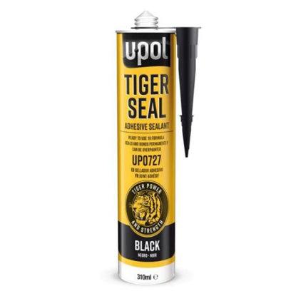 Obrazek Masa klejąco usczelniająca U-POL TIGER SEAL czarna